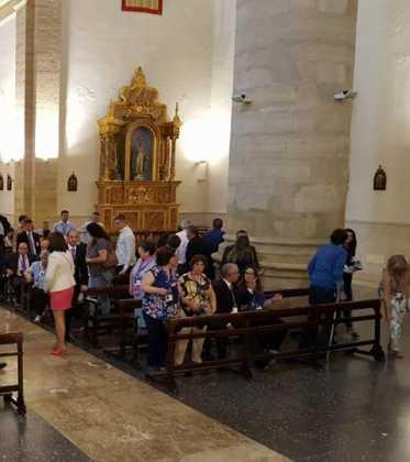 IV Encuentro Regional de Hermandades de Jesus de Medinaceli4 373x420 - Herencia presente el el IV Encuentro Regional de Hermandades de Jesús de Medinaceli