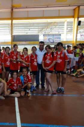 Brillante fin de semana de balonmano en Herencia 26
