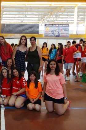 Brillante fin de semana de balonmano en Herencia 28