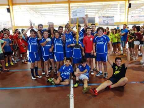 IX Quijote Handball Herencia 2017 balonmano37 465x349 - Brillante fin de semana de balonmano en Herencia