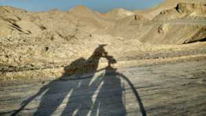 Perlé en el desierto persa celebrando su Cumpleaños. 25