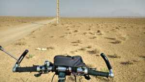 Perlé en el desierto persa celebrando su Cumpleaños. 24