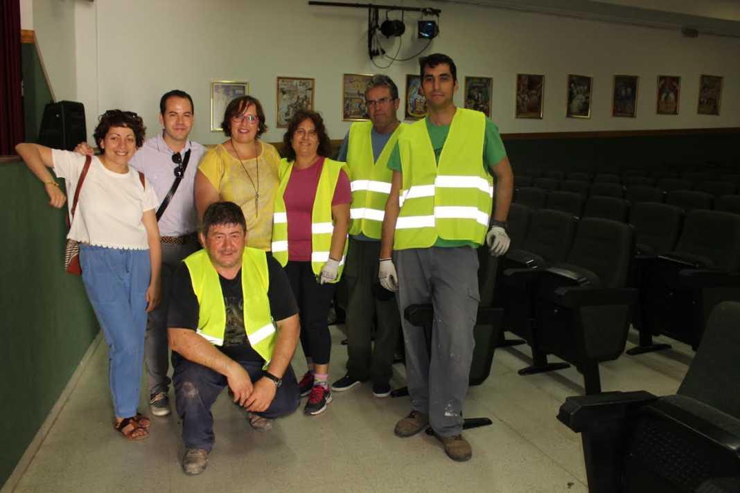 Visita de la delegada regional a Herencia 1068x712 - El Gobierno de García-Page invierte más de 306.000 euros en Herencia para fomentar el empleo de 56 personas desde el inicio de la legislatura