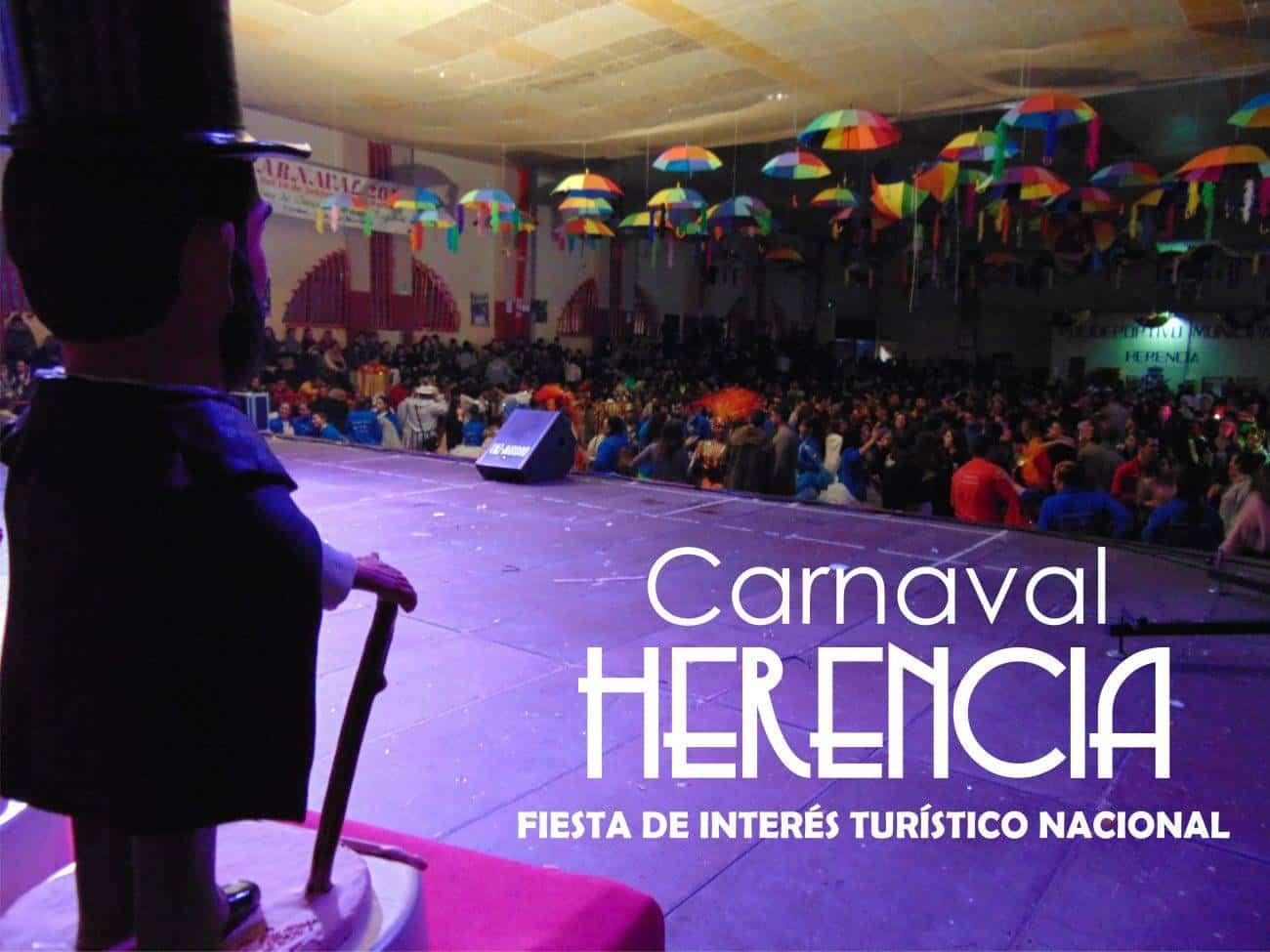 carnaval de herencia interes turistico nacional 2017 - El BOE publica la declaración de Interés Turístico Nacional del Carnaval de Herencia