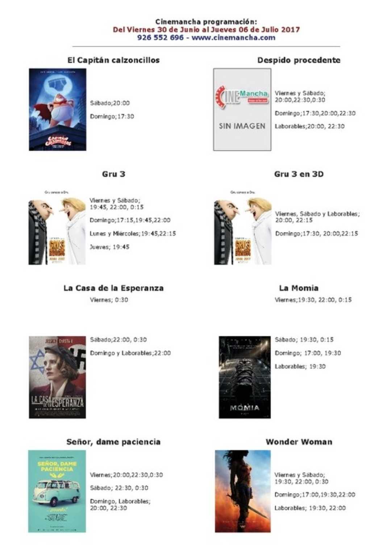 cartelera de cinemancha del 30 de junio al 06 de julio 1068x1530 - Multicines Cinemancha presenta su cartelera para esta semana