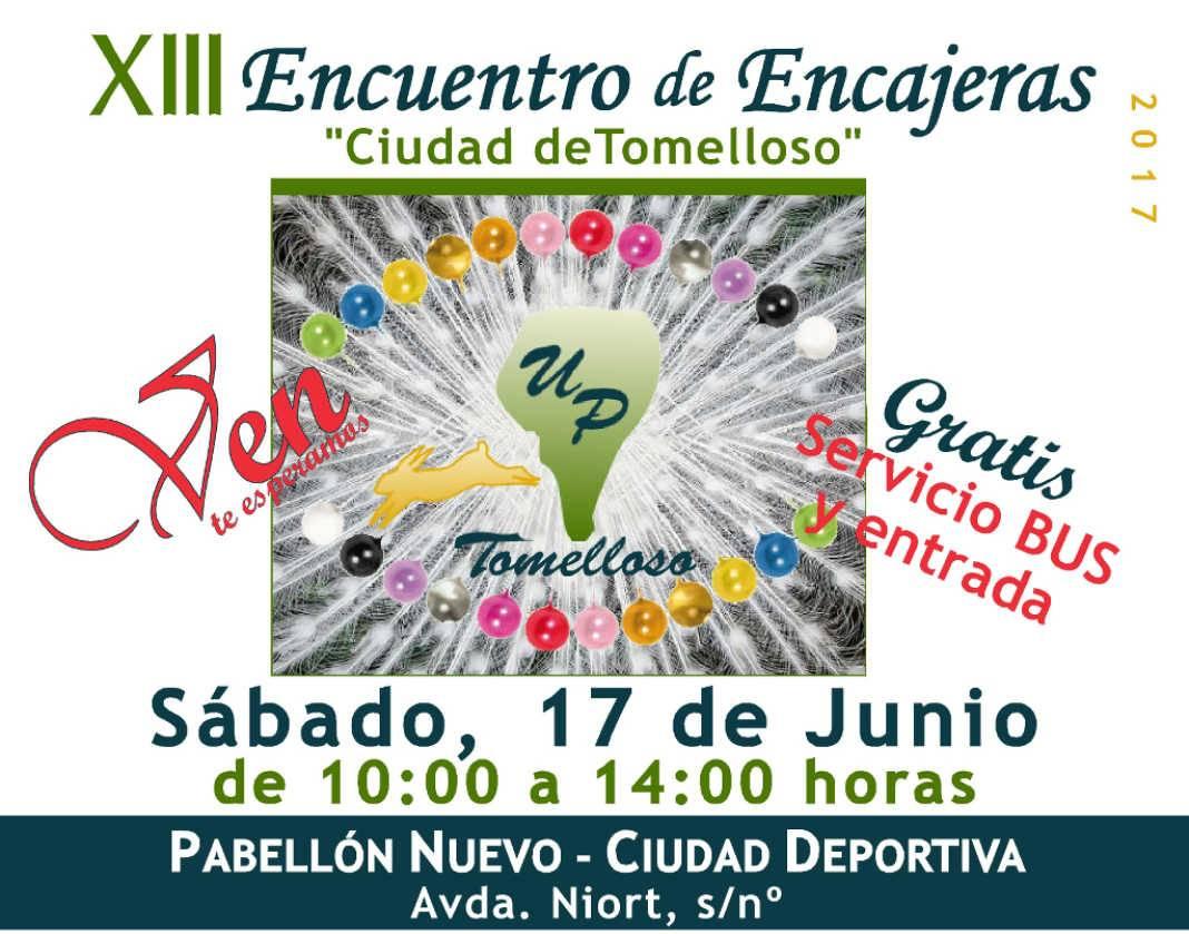 encuentro encajeras 2017 tomelloso 1068x839 - Más de 300 encajeras participarán en el XIII Encuentro de la Universidad Popular