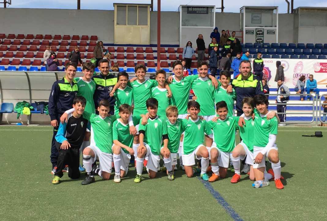 equipo infantil futbol herencia 1068x721 - El equipo infantil de Herencia se enfrenta en cuartos de final de la Fase Regional frente al Almansa