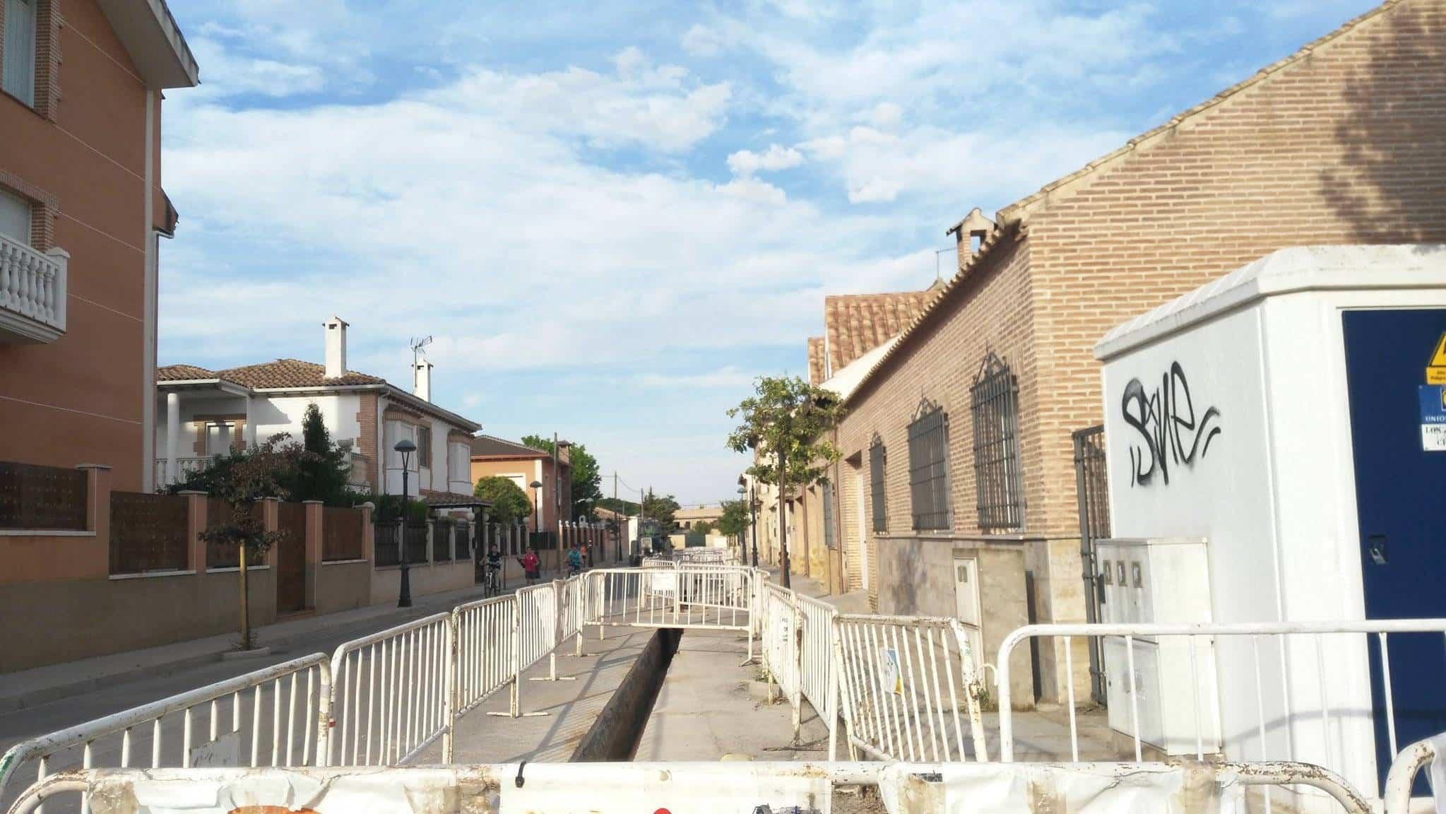 instalacion de gas los jardines herencia - Sigue la implantación de canalización de gas en Herencia