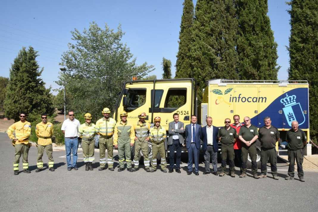 operativo contra incendios clm 1068x712 - Más de 3.000 personas participan en la campaña contra incendios en Castilla-La Mancha