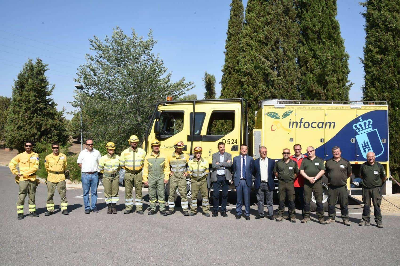 operativo contra incendios clm - Más de 3.000 personas participan en la campaña contra incendios en Castilla-La Mancha