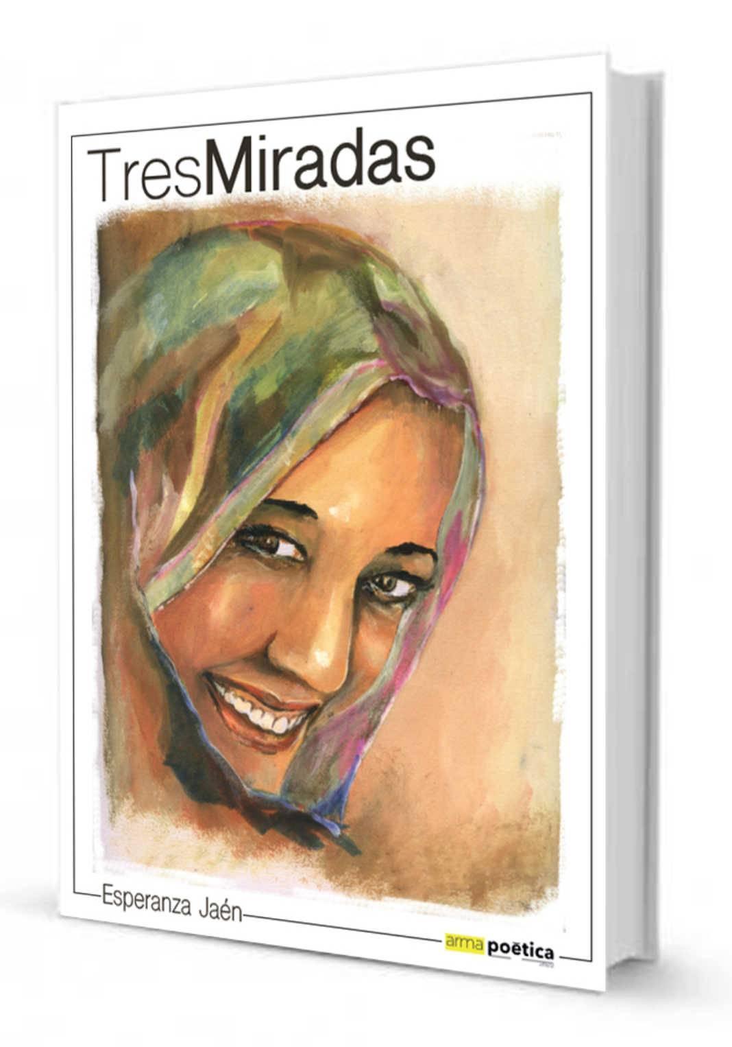 "portada Tres miradas Jesus Romero Sahara 1068x1526 - Jesús Romero Núñez ilustra el libro de temática saharaui ""Tres Miradas"""