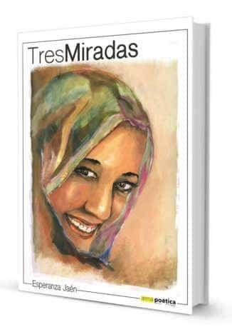 "portada Tres miradas Jesus Romero Sahara 326x465 - Jesús Romero Núñez ilustra el libro de temática saharaui ""Tres Miradas"""