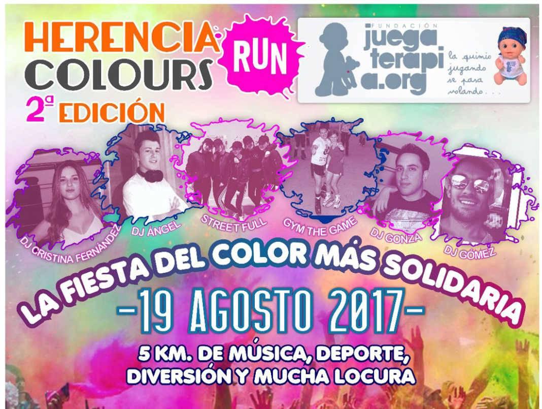 segunda carrera herencia colours run 1068x805 - Abiertas las inscripciones para la II Herencia Colours Run