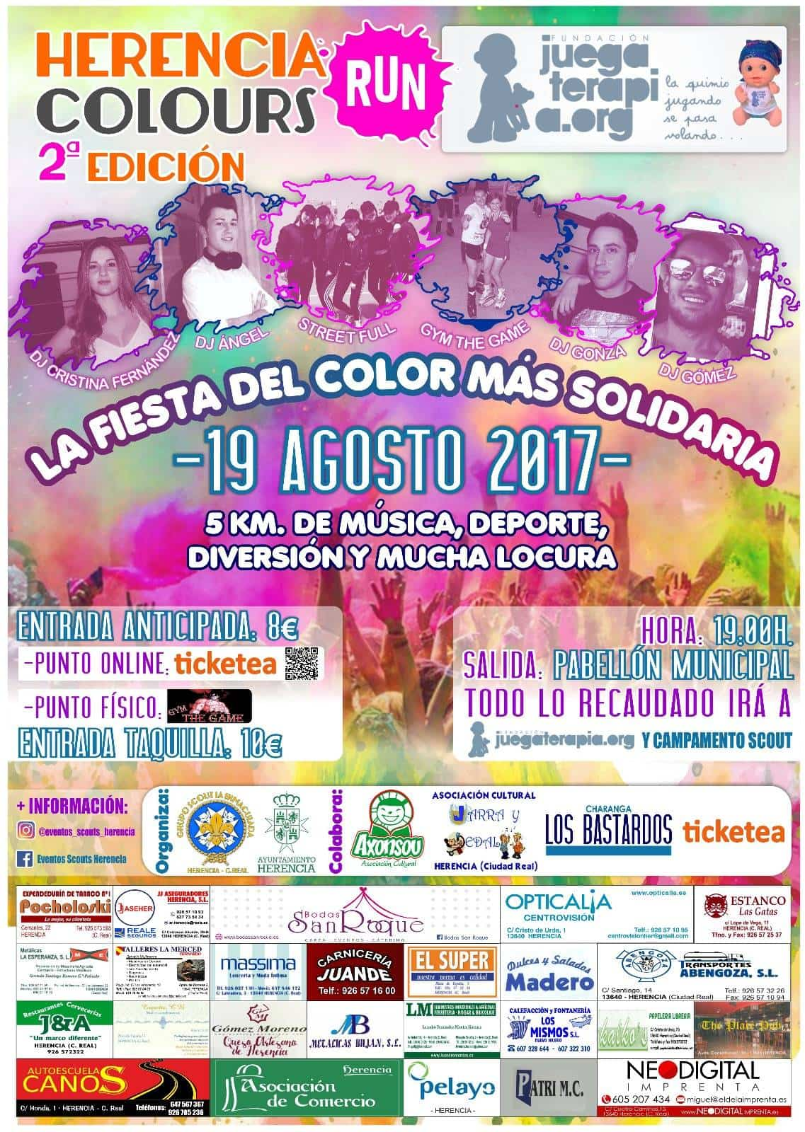segunda herencia colours run - Abiertas las inscripciones para la II Herencia Colours Run