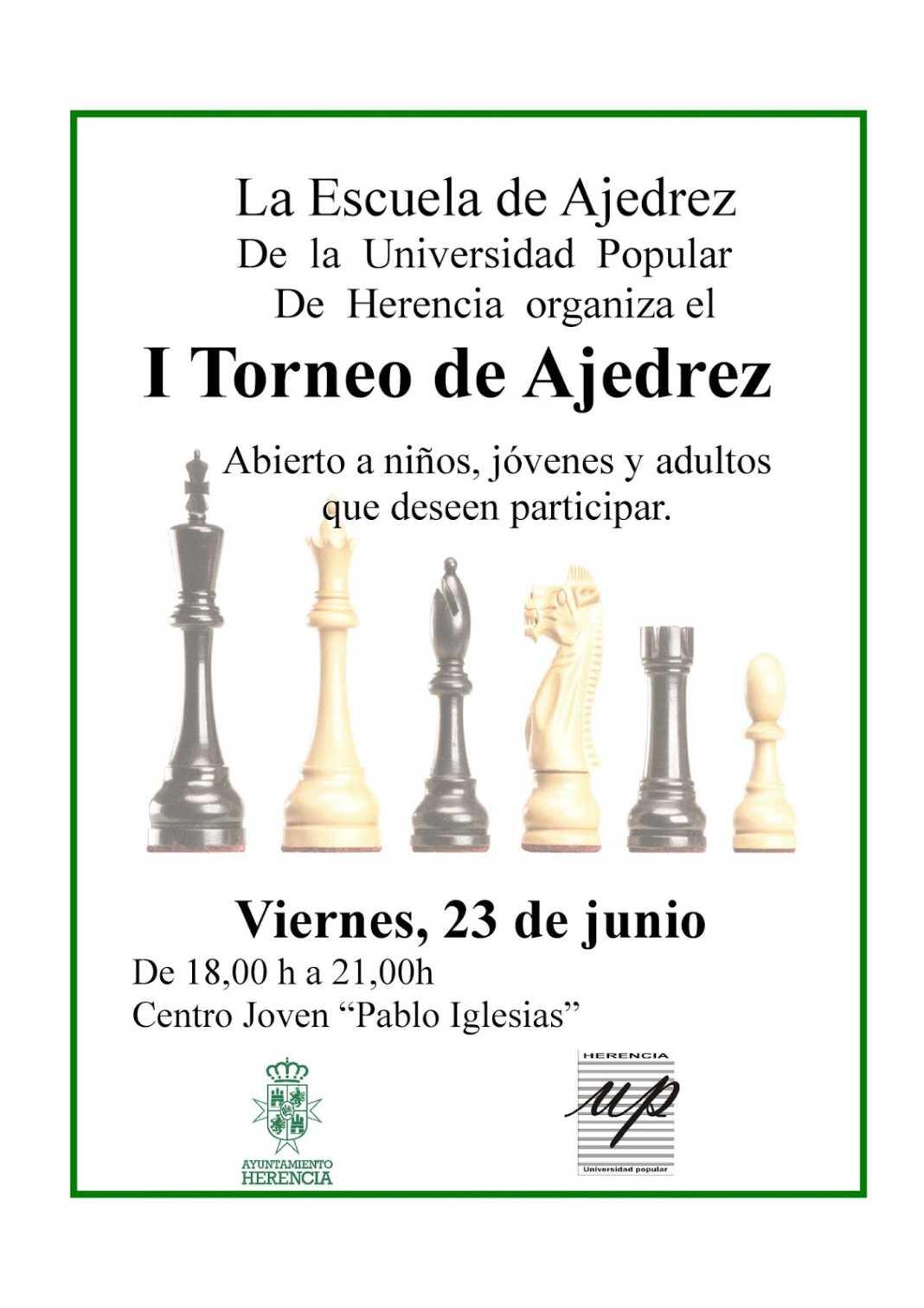 torneo de ajedrez 2017 herencia 1068x1512 - I Torneo de la Escuela de Ajedrez de la Universidad Popular en Herencia