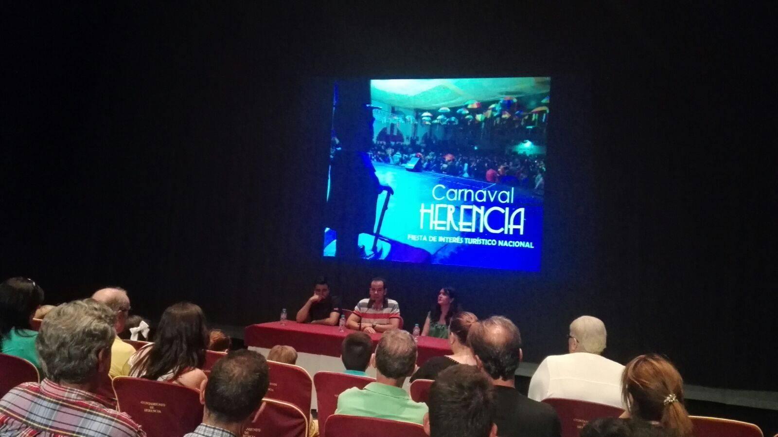 video carnaval nacional - La Comisión de Carnaval de Herencia habla de la Declaración de Interés Turístico Nacional