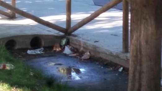 zona infantil parque herencia mal estado 1 522x293 - Zona infantil del parque sigue necesitando una renovación urgente