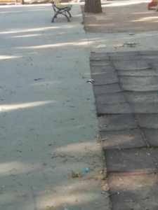 Zona infantil del parque sigue necesitando una renovación urgente 10