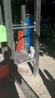 zona infantil parque herencia mal estado - 11