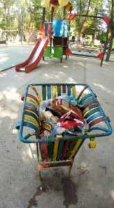 Zona infantil del parque sigue necesitando una renovación urgente 5