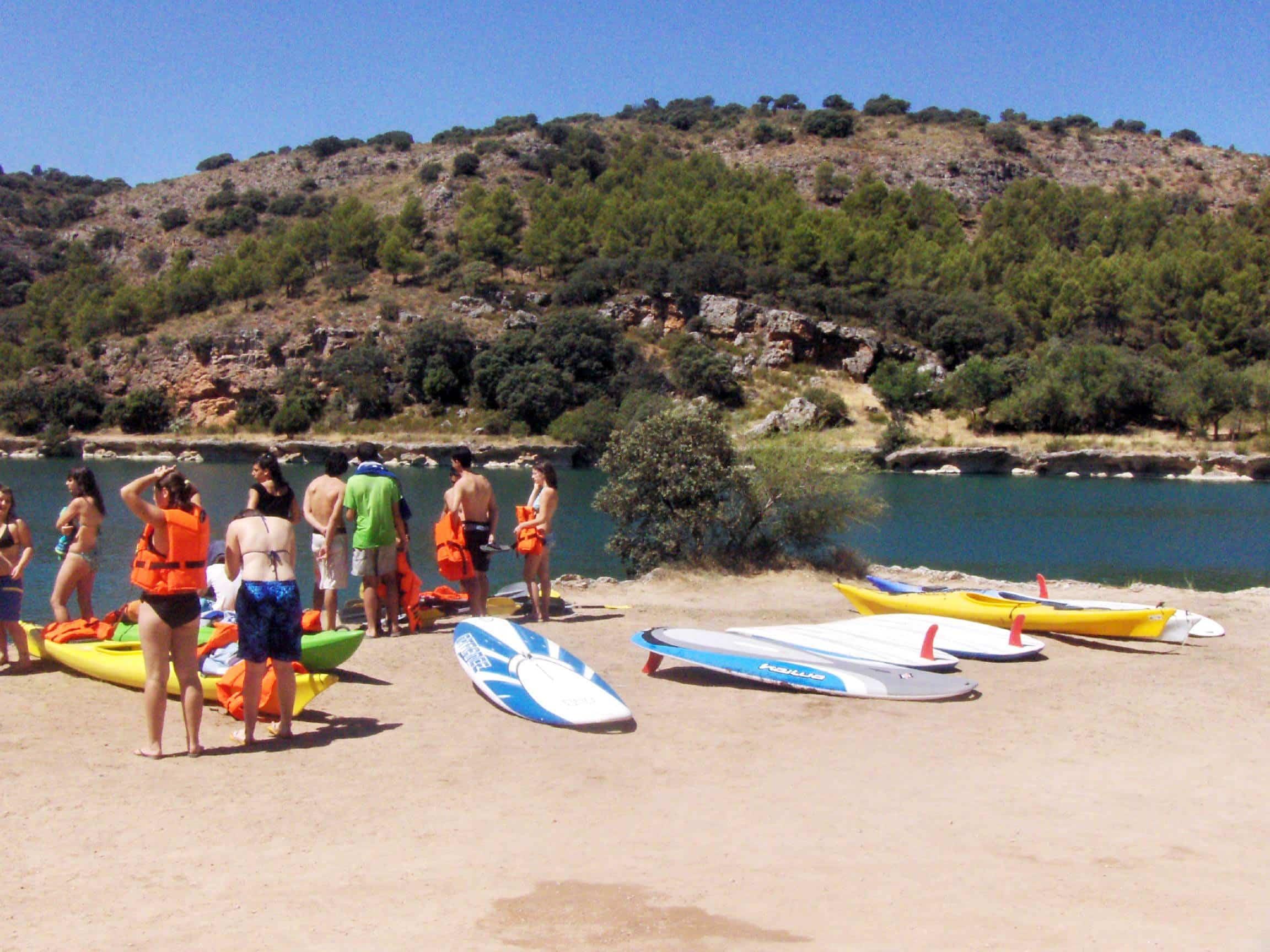 Castilla-La Mancha cuenta con 35 zonas de baño autorizadas para disfrutar de la naturaleza 3