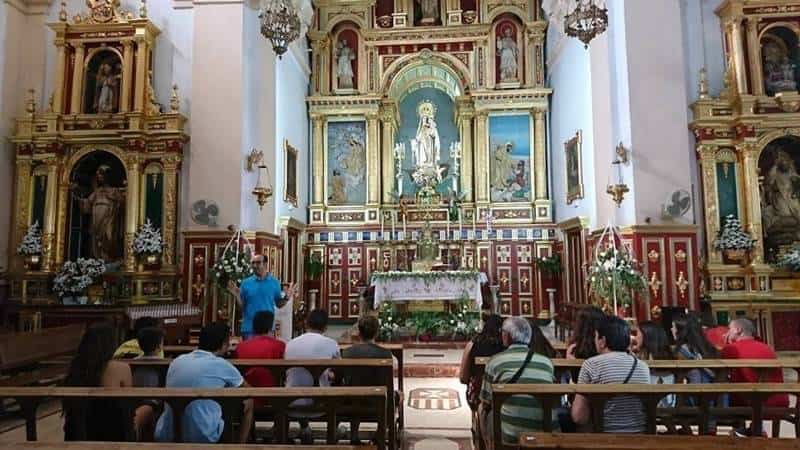 El Movimiento Juvenil Mercedario realiza su campamento juvenil en Herencia 5