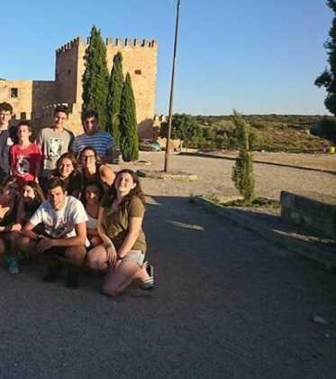 El Movimiento Juvenil Mercedario realiza su campamento juvenil en Herencia 15