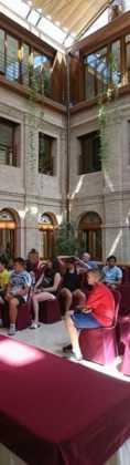 Campamento Juvenil Mercedario 201709 118x420 - El Movimiento Juvenil Mercedario realiza su campamento juvenil en Herencia