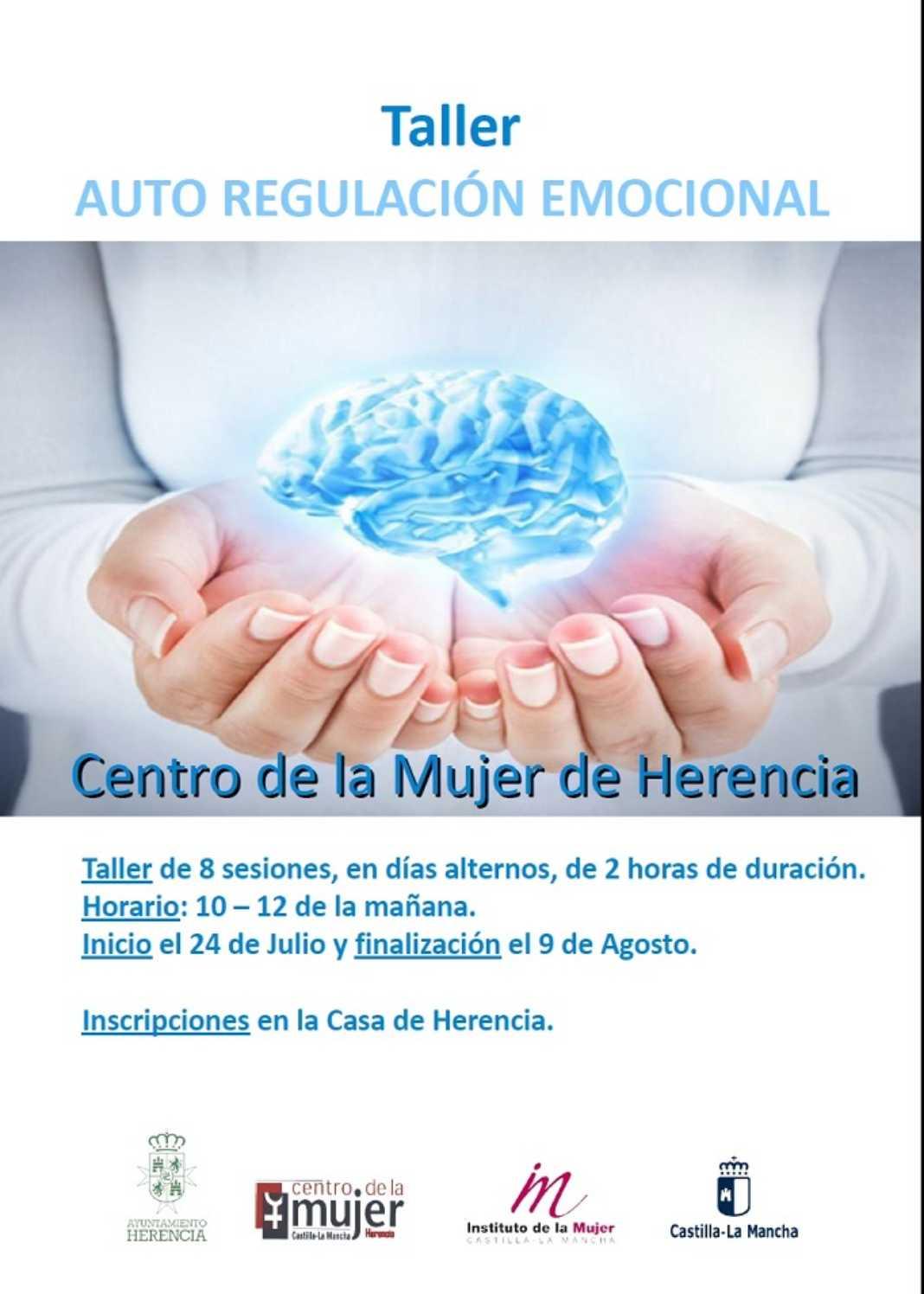 Curso del Centro de la Mujer 1068x1496 - Taller de Autorregulación Emocional