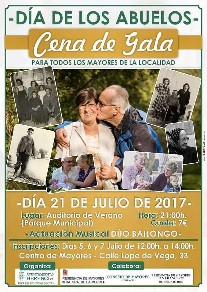 Dia del Abuelo en Herencia - Herencia celebrará el día de los abuelos con una cena de gala