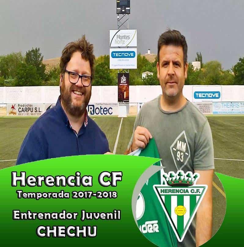 Herencia CF1 - Nuevos entrenadores para los equipos del Herencia C. F.