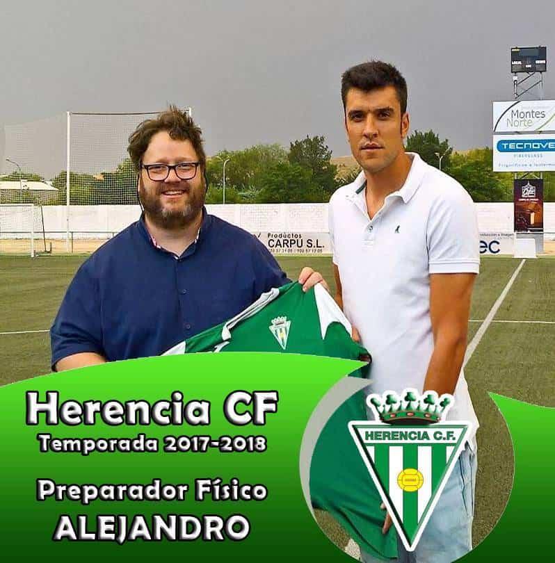 Nuevos entrenadores para los equipos del Herencia C. F. 4
