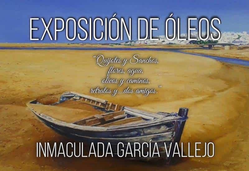 Inmaculada Garcia Vallejo exposicion - Terceras Jornadas de puertas abiertas de la Casa de Don Mariano