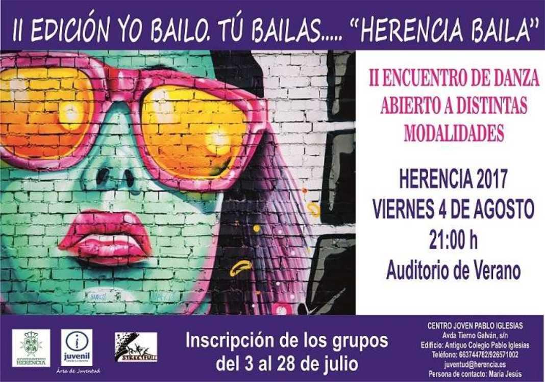 """Yo bailo tu bailas 1068x750 - II Encuentro de Danza """"Yo bailo, tú bailas… Herencia baila"""""""