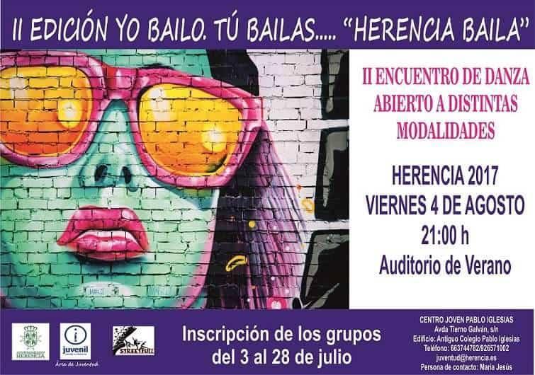 """Yo bailo tu bailas - II Encuentro de Danza """"Yo bailo, tú bailas… Herencia baila"""""""
