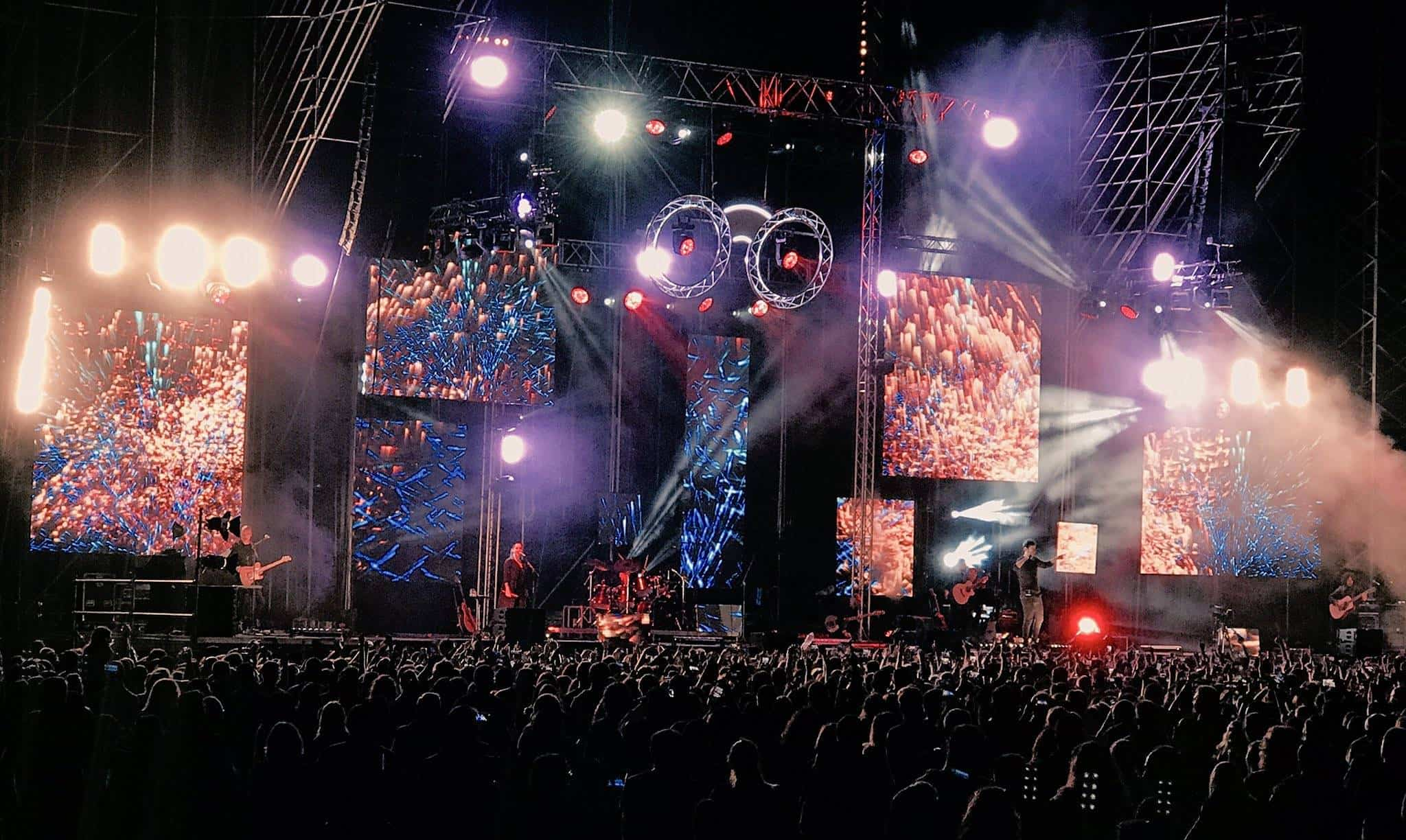 concierto melendi en herencia - Cientos de personas disfrutan del concierto de Melendi en Herencia