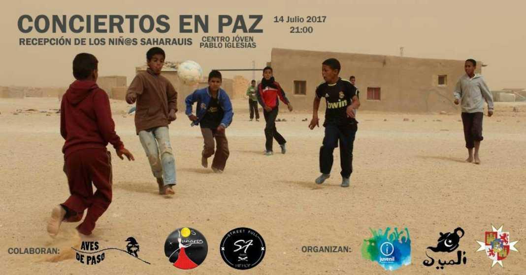 conciertos en paz recepcion de niños saharauis 1068x560 - Conciertos en paz. Recepción de los niños saharauis en Herencia