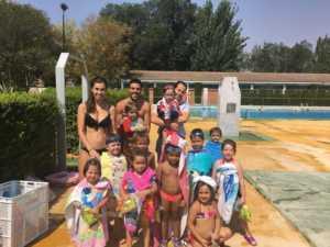 Finalizan los cursos de natación de julio 2017 en Herencia 2