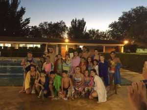 Finalizan los cursos de natación de julio 2017 en Herencia 3