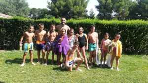 Finalizan los cursos de natación de julio 2017 en Herencia 6