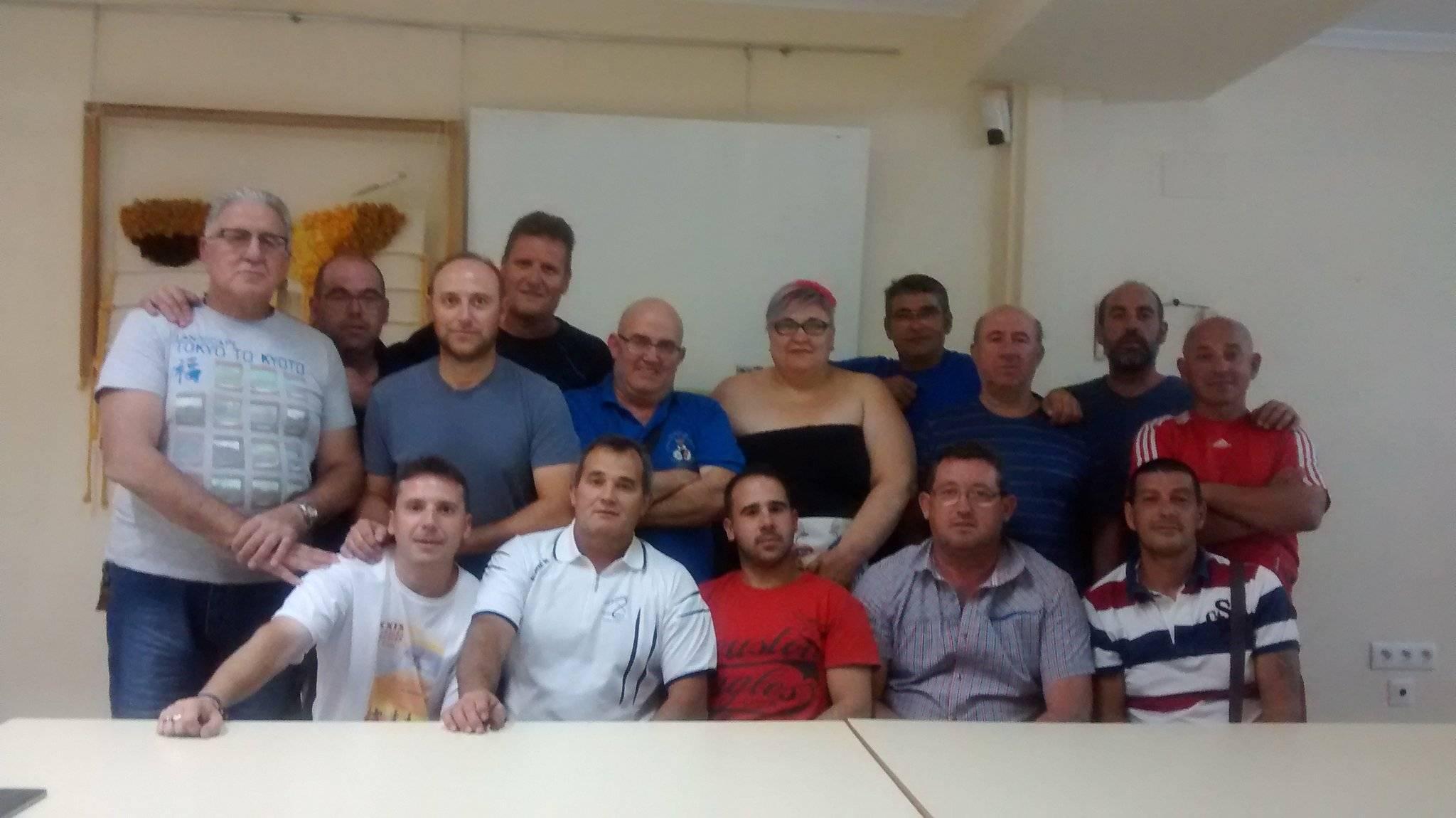 grupo de voluntarios proteccion civil herencia - Protección Civil se prepara para el Concierto de Melendi