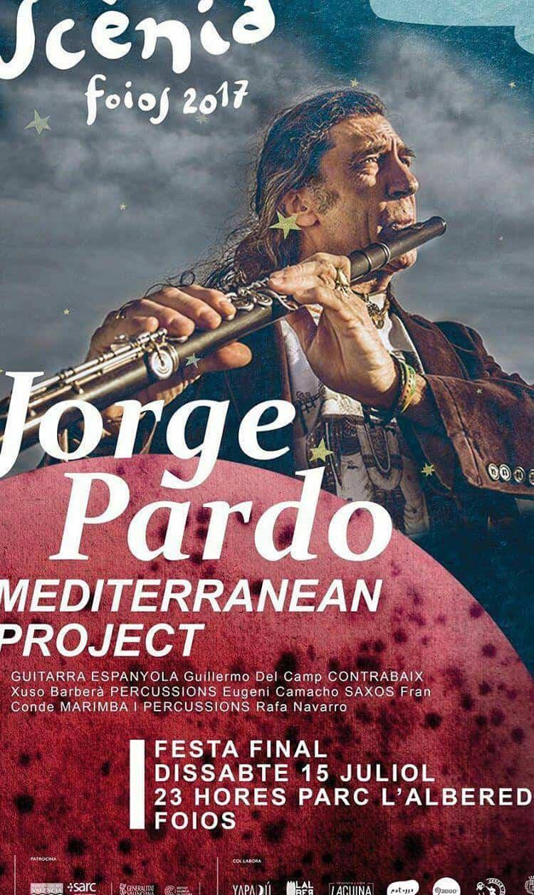 """jorge pardo mediterranean project - Guillermo Martín del Campo participa en """"Jorge Pardo Mediterranean Project"""" en Foios (Valencia)"""