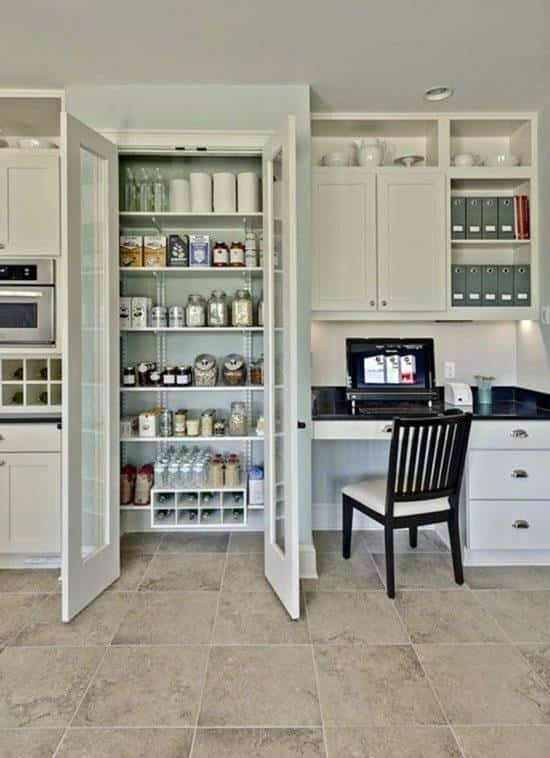 Ideas y consejos para organizar tu despensa. Muebles de cocina