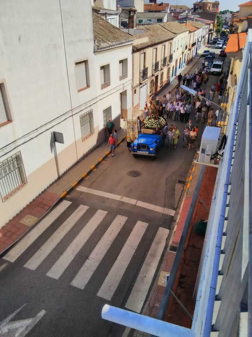 Fotografías de la procesión de la imagen de San Cristóbal 7