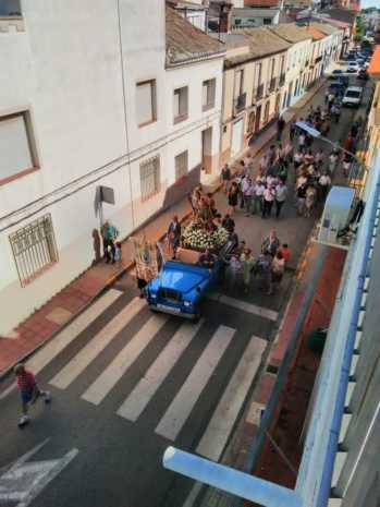 Fotografías de la procesión de la imagen de San Cristóbal 6
