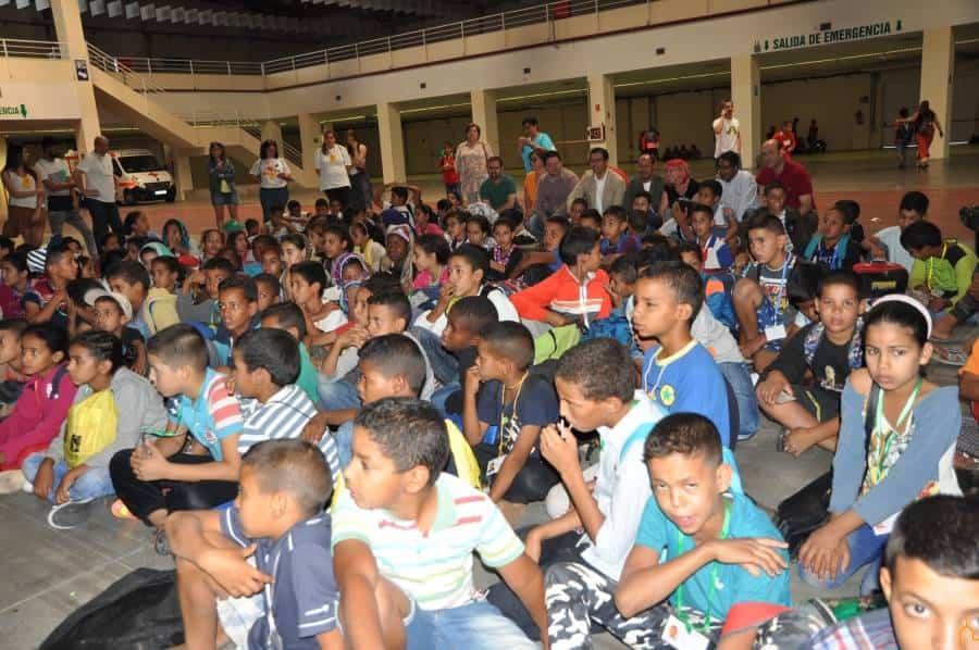 """vacaciones en paz ciudad real saharauis ninos - La Herencia más solidaria un año más acogiendo a niños saharauis con """"Vacaciones en Paz"""""""
