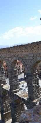 """12Viaje a Segovia de la hermandad de san Jose de Herencia 140x420 - El coro """"La Azucena de San José"""" realizó un viaje cultural a Segovia"""