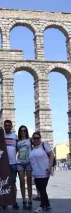 """15Viaje a Segovia de la hermandad de san Jose de Herencia 140x420 - El coro """"La Azucena de San José"""" realizó un viaje cultural a Segovia"""