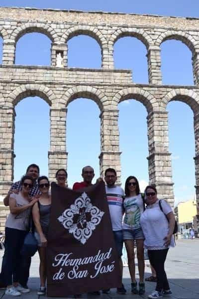 """15Viaje a Segovia de la hermandad de san Jose de Herencia - El coro """"La Azucena de San José"""" realizó un viaje cultural a Segovia"""