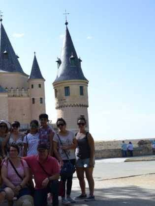 "El coro ""La Azucena de San José"" realizó un viaje cultural a Segovia 11"